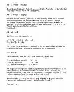 Ellipse Berechnen : kepler gleichung ~ Themetempest.com Abrechnung