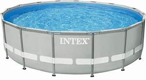 intex pool set mit sandfilteranlage o 549 cm frame With französischer balkon mit pool garten intex