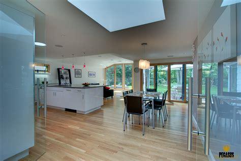 contemporary european kitchen living space pegasus