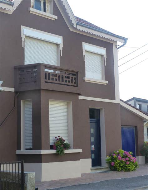 couleur de facade de maison ventana