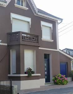 Couleur De Facade : couleur de facade de maison ventana blog ~ Nature-et-papiers.com Idées de Décoration