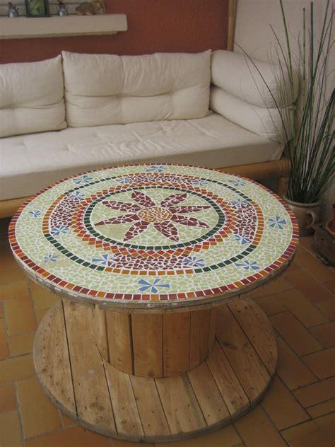 comment faire une mosaique en carrelage table touret en mosa 239 que des petites mains magouilleuses