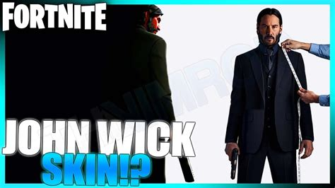 John Wick Coming To Fortnite Battle Royale! (unreleased