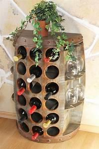 Flaschenregal Selber Bauen : weinregal weinfass 1486 beistelltisch schrank fa aus holz 72cm wandtisch bar dandibo ~ One.caynefoto.club Haus und Dekorationen