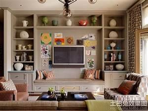 家装室内客厅电视背景墙图片大全_土巴兔装修效果图