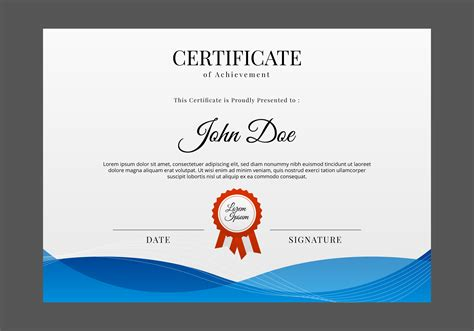 free courses with certificates free certificate template vector free vector