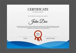 Certificate Templates  Free Certificate Designs