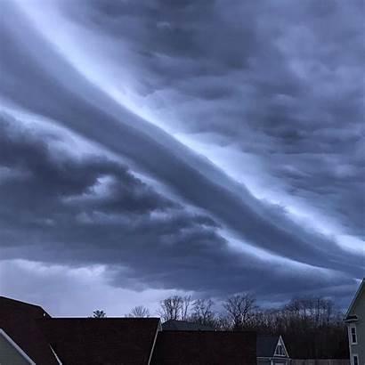Shelf Indianapolis Cloud Clouds Kentucky Apocalyptic Indiana