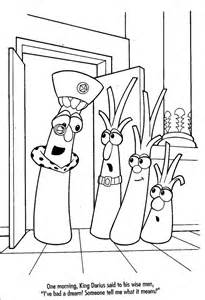 VeggieTales Coloring Pages