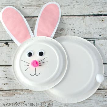 paper plate crafts for 347 | paper plate bunny easter kids craft 350x350