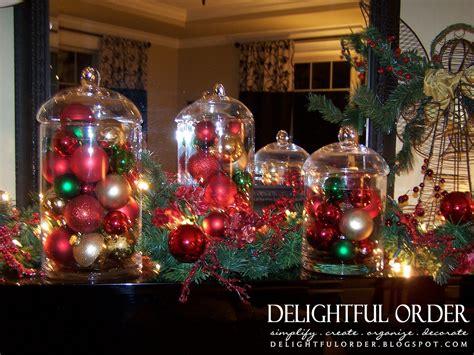 delightful order christmas ornament glass jars