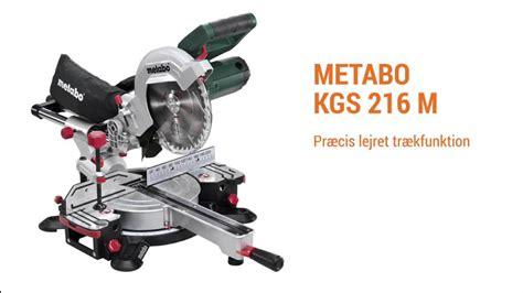 metabo kappsäge kgs 216 m metabo kgs 216 m kap geringssav bygxtra