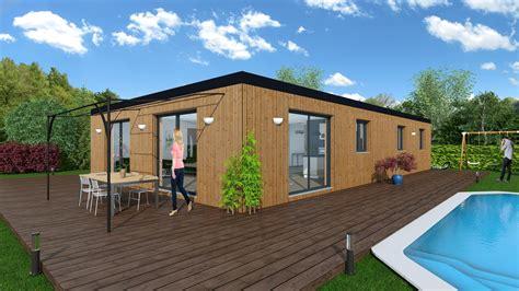 atelier de cuisine maison bioclimatique sycomore nordi bois construction