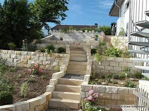 sandstein mauersteine sandsteinmauer natursteinmauer 20 With französischer balkon mit vogeltränke sandstein garten