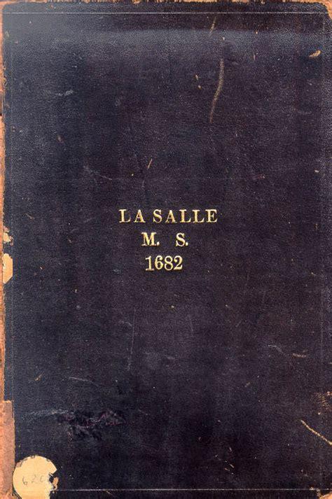 nicolas la salle journal 1682 tslac