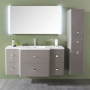 Meuble Salle De Bain Taupe : meuble de salle de bains taupe meltem meuble de salle de ~ Dailycaller-alerts.com Idées de Décoration
