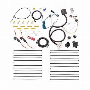 Tekonsha 22121 7 Way Tow Harness Wiring Kit Compatible