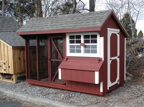 Barn Chicken Coop by
