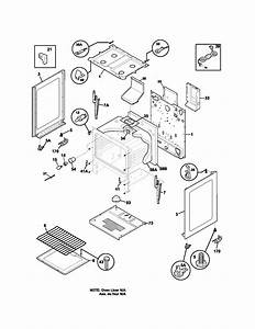 Body Diagram  U0026 Parts List For Model 79071412400 Kenmore