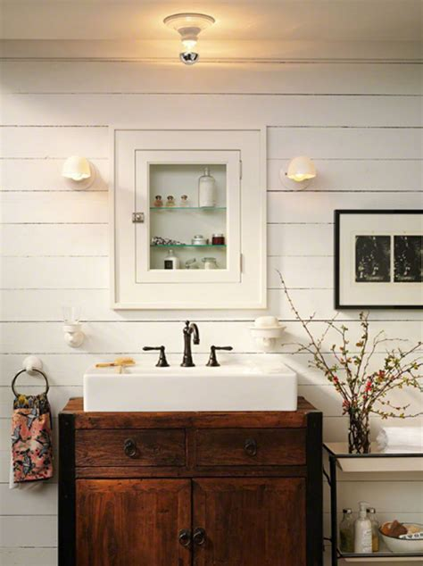 bathroom vanity farmhouse style 20 cozy and beautiful farmhouse bathroom ideas home