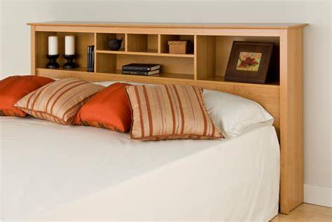 king bookcase headboard with lights king headboard bookcase sonoma maple light brown wood ebay
