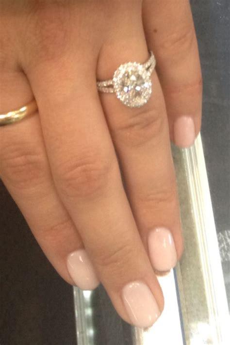 micro pave split shank   oval diamond  beauty