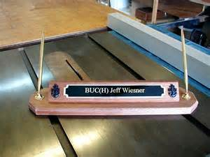 Desk Name Plate Template