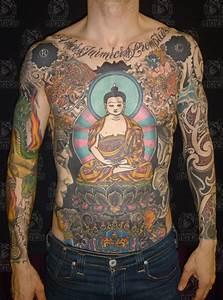 Tibetan buddha and lotus | Tattoo by Darko Groenhagen ...