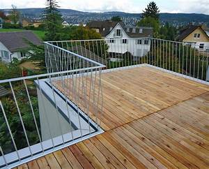 terrasse 01 dachterrasse pinterest gelander With garten planen mit flachstahl geländer balkon