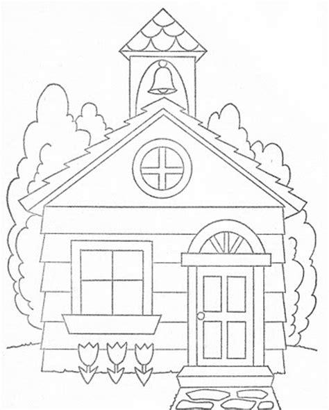 dibujos de iglesias  pintar colorear imagenes