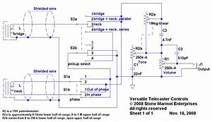 Versatile Telecaster Controls
