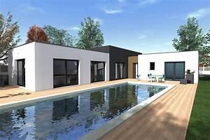 Prix maison toit terrasse dcouvrez la proportion des for Maison toit plat en l