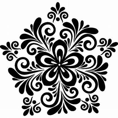 Arabesque Fleur Sticker Fleurs Ambiance Stickers Couleur
