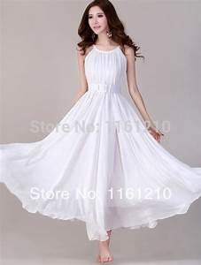 aliexpresscom buy white summer holiday beach dress With white dress for beach wedding guest