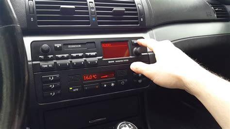 bmw e46 radio yatour yt m06 memory error message bmw e46 navi business