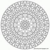 Coloring Mandala Pages Adults Pdf Comments sketch template