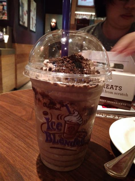Chocolate hazelnut ice blended drink coffee bean menu: REVIEW: The Coffee Bean's Mudpie Ice Blended - Beanwalk