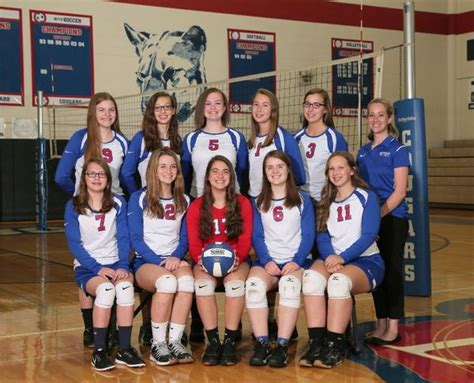 lenawee christian school girls junior varsity volleyball fall