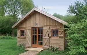 Grand Abri De Jardin : abris de jardin construits en ossature bois ~ Dailycaller-alerts.com Idées de Décoration