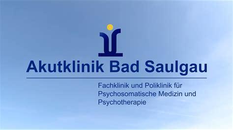 akutklinik bad saulgau youtube