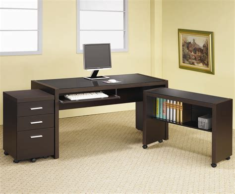L Table With Storage by Coaster Skylar L Shape Computer Desk With Storage Dunk