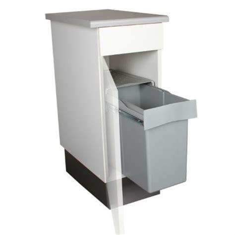 poubelle cuisine 30 litres poubelle de cuisine coulissante 1 bac 30 litres