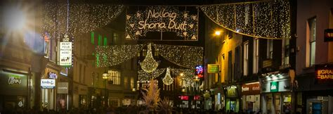 grafton street christmas lights switch on dublin at