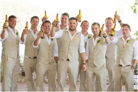25+ Best Ideas About Beach Wedding Groomsmen On Pinterest