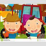 Cartoon Farm Scene | 1300 x 1065 jpeg 167kB