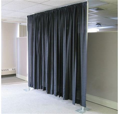 Drapes Rental - pipe and drape to cover walls office space to
