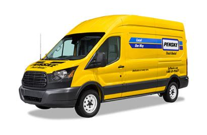 moving truck sizes  features penske truck rental