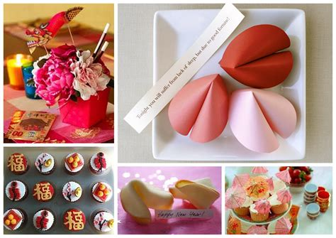 Chinese New Year Table Decoration Ideas Party Themes