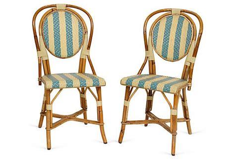 maison gatti caf 233 chairs pair