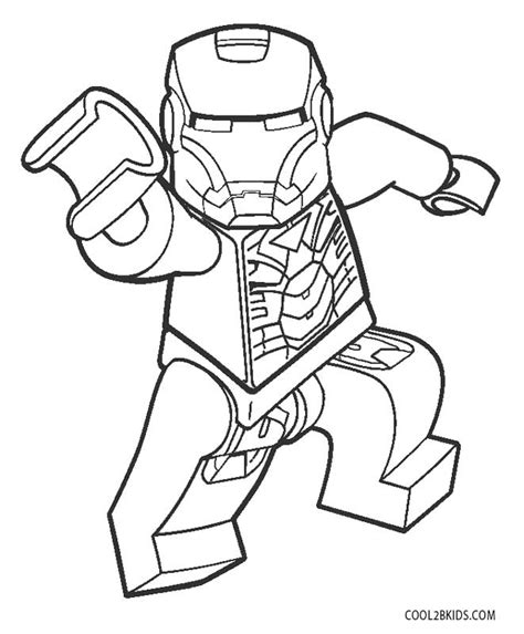 printable iron man coloring pages  kids coolbkids